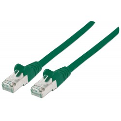 350624, Пач кабел Cat.6А 2m SFTP зелен, IC