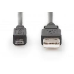 AK-300110-010-S, USB 2.0 кабел М/М 1м