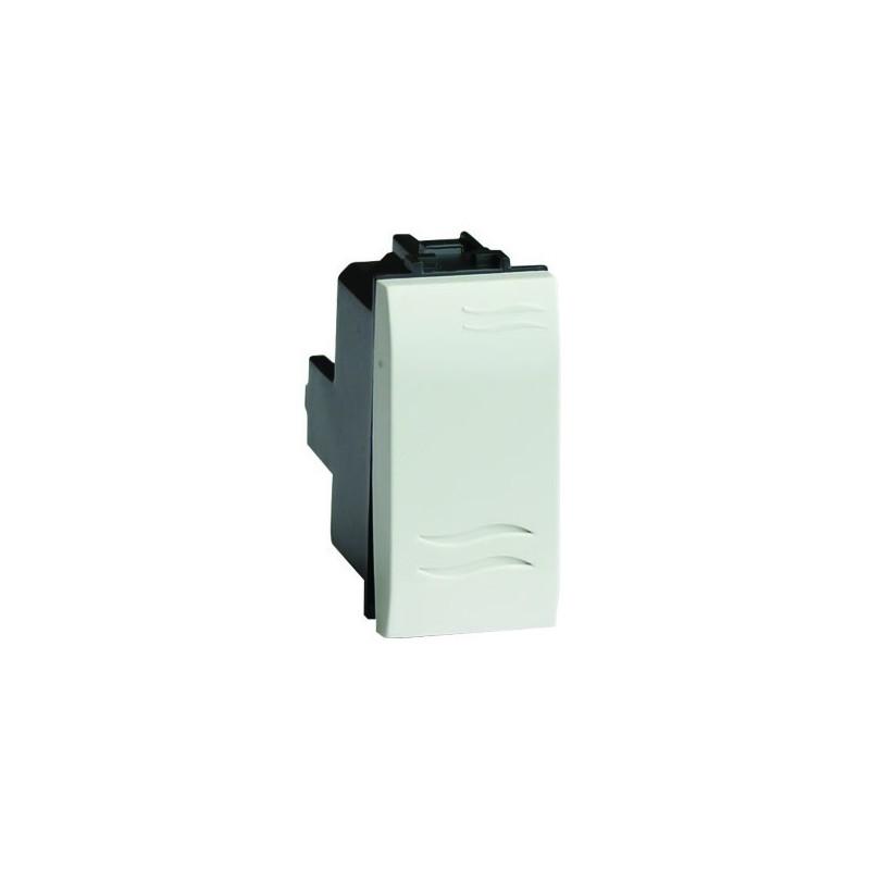 76001B, Единичен ключ 45x22.5 бял