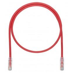 UTP6ASD2MRD, Пач кабел UTP cat.6A 2m червен SD Panduit