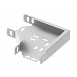 130-6, Плосък ъгъл за 60/300mm метален канал