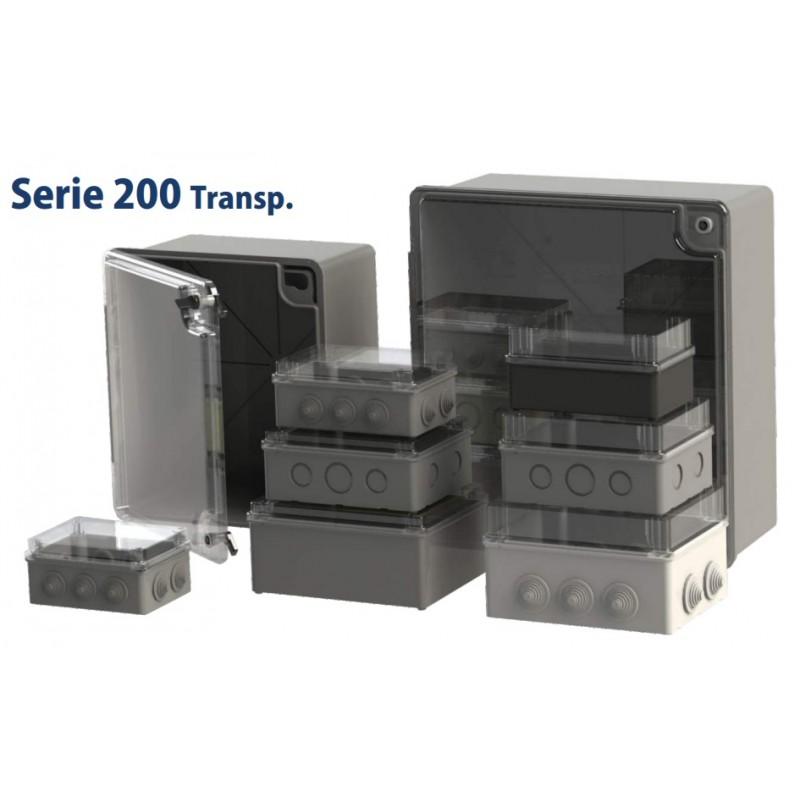 MFTR-244, Кутия S200 с прозрачен капак 430x390x175,  IP54