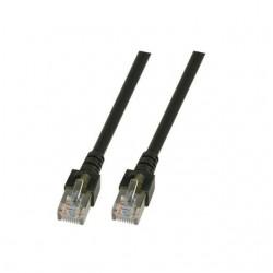 K5456.0.5, Пач кабел Cat.5e 0.5m SFTP черен, EFB