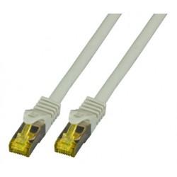 MK7001.3G, Пач кабел Cat.6A 3m SFTP сив, EFB