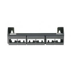 CWPP12WBL, 12 портов панел празен MiniCom за стена
