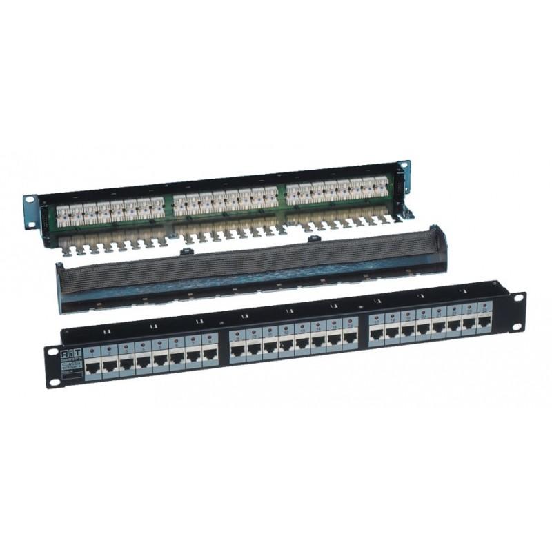 R3910100D/F, Пач панел 24 порт cat.6 STP, Classix