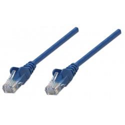 318129, Пач кабел Cat.5e 0.5m UTP син, IC