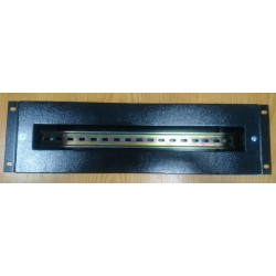 "3U19-MET, 3U 19"" electrical distribution box - черен"