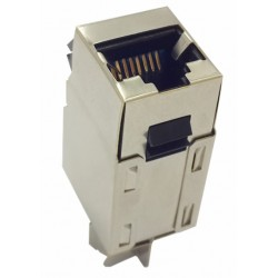 1375189-1, AMP, RJ 45 SL 110Connect Modular Jack, Cat.5E, S