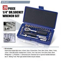 Комплект инструмент с 29 накрайника, GTK-231