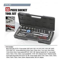 Комплект инструмент с 52 накрайника, GTK-252