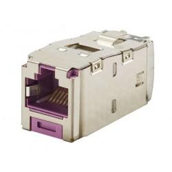 CJS6X88TGVLY, Mini-Com конектор FTP Cat.6A виолетов
