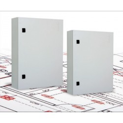 LN-WM601225LG-A, LANDE, Метална кутия за стена 60x120x25