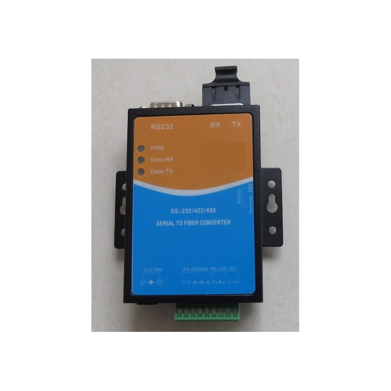 Конвертор RS232/422/485 dual fiber MM 2km