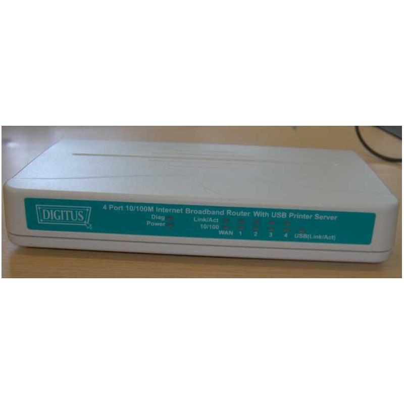 DN-11004-N, Маршрутизатор 4 порта LAN, 1 порт WAN и USB