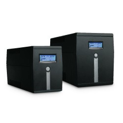 MICRO600, Eudax LineInt. UPS 600VA/360W 4xC13 Soft. RJ11