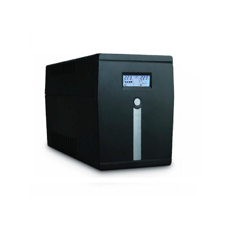 Eudax LineInt. UPS 800VA/480W 4xC13 with soft.