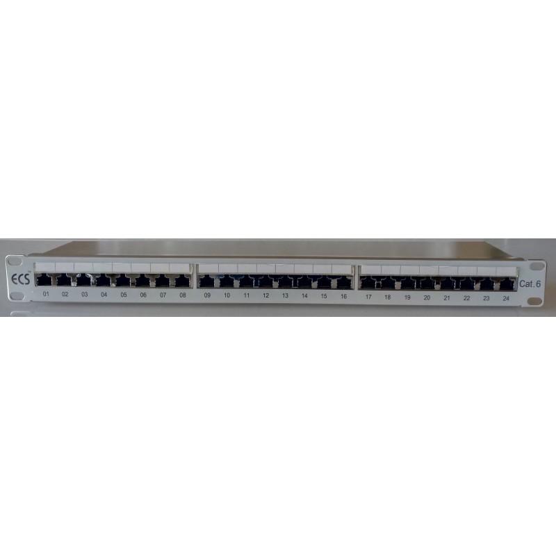 94ECS00804, Пач панел 24 порта STP cat.6, teldor