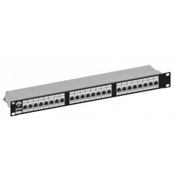 R3801010D, Пач панел 24 порт cat.5e STP, SMART Giga