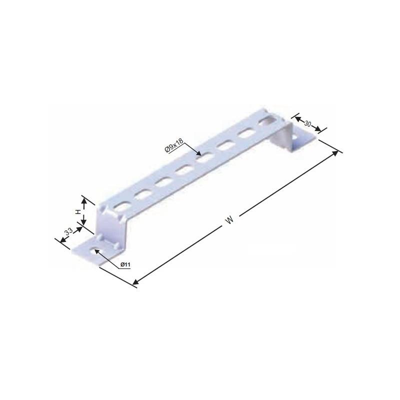 WLF-10050, Петичка за монтаж на канал с широчина 100мм.