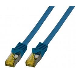 MK7001.1BL, Пач кабел Cat.6A 1m SFTP сини, EFB