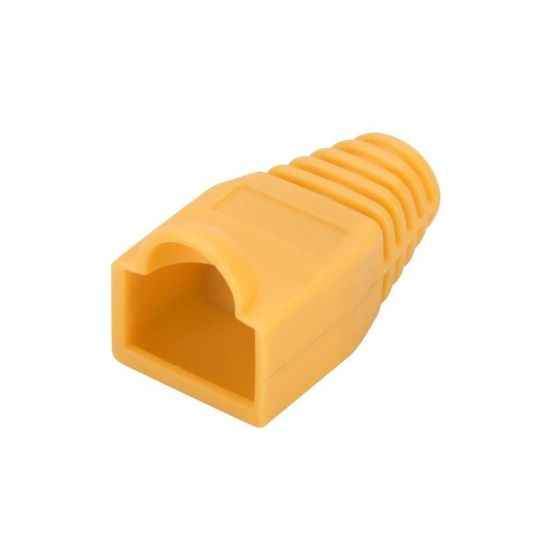 A-MOT/Y 8/8, Кабелна обувка - жълта Assmann