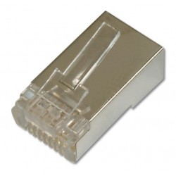 A-MO 8/8 SRS, RJ45 плъг (round cable) shielded, Assmann