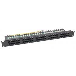 37595SW.2, 50 портов ISDN панел, EFB, черен