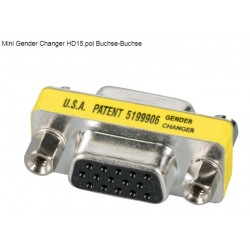 EB420, Mini Gender changer HD15 Jack/HD15Jack