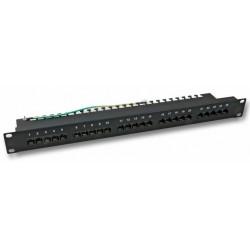 37588SW.1, 25 портов ISDN панел, EFB, черен