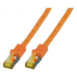 MK7001.0,25O, Пач кабел Cat.6A 0.25m SFTP оранжев LSZH, EFB