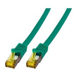 MK7001.3GR, Пач кабел Cat.6A 3m SFTP зелен LSZH, EFB