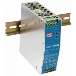 PWR-120-48, Захранване за DIN шина 48V, 120W, 2.5A