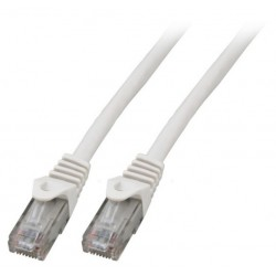 K8104WS.2, Patch cable Cat.6 2m UTP LSZH бял, EFB