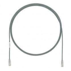 UTP28X1MGY, Пач кабел UTP cat.6A 28AWG 1m сив, Panduit