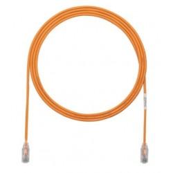 UTP28X3MOR, Пач кабел UTP cat.6A 28AWG 3m оранжев, Panduit