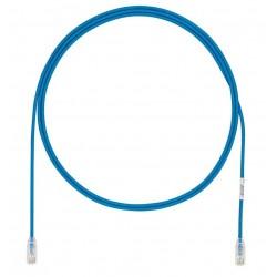 UTP28X2MBU, Пач кабел UTP cat.6A 28AWG 2m син, Panduit