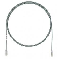 UTP28X1.5MGY, Пач кабел UTP cat.6A 28AWG 1.5m сив, Panduit
