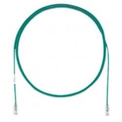UTP28X0.2MGR, Пач кабел UTP cat.6A 28AWG 0.2m зелен, Panduit