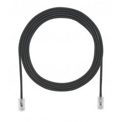 UTP28X1MBL, Пач кабел UTP cat.6A 28AWG 1m черен, Panduit