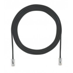 UTP28X2MBL, Пач кабел UTP cat.6A 28AWG 2m черен, Panduit