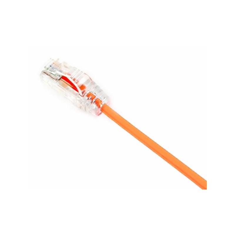 UTP28X1.5MOR, Пач кабел UTP cat.6A 28AWG 1.5m оранжев, Panduit