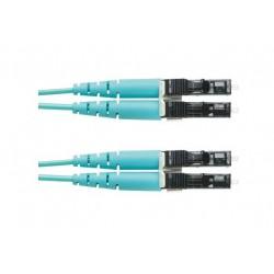 FZ2ELLNLNSNM015, Оптична корда дуплекс 50/125 LC-LC (OM4) 15m PAN