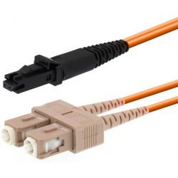 JMQ60C8002, Оптична корда дуплекс 62.5/125 MTRJ-SC 2m. Optop