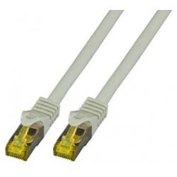 MK7001.1G, Пач кабел Cat.6A 1m SFTP сив LSZH, EFB