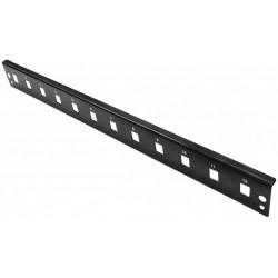 "102001-BL.15, 19"" 1U Опт. панел 12xSC simplex, черен ALF"