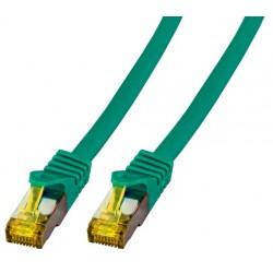 MK7001.5GR, Пач кабел Cat.6A 5m SFTP зелен LSZH, EFB
