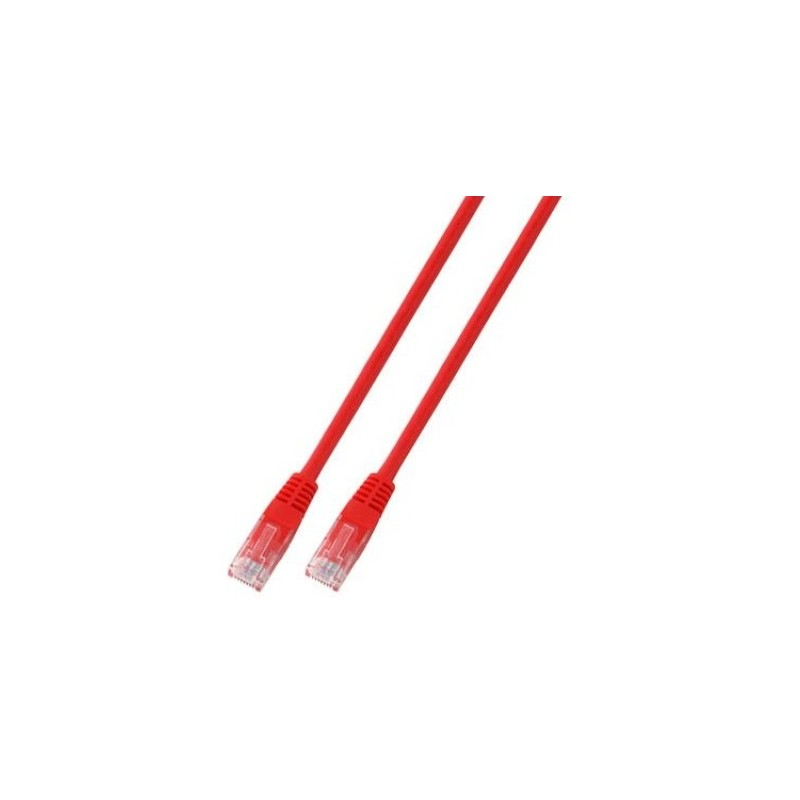 K8096.10, Пач кабел Cat.5e 10m UTP червен, EFB