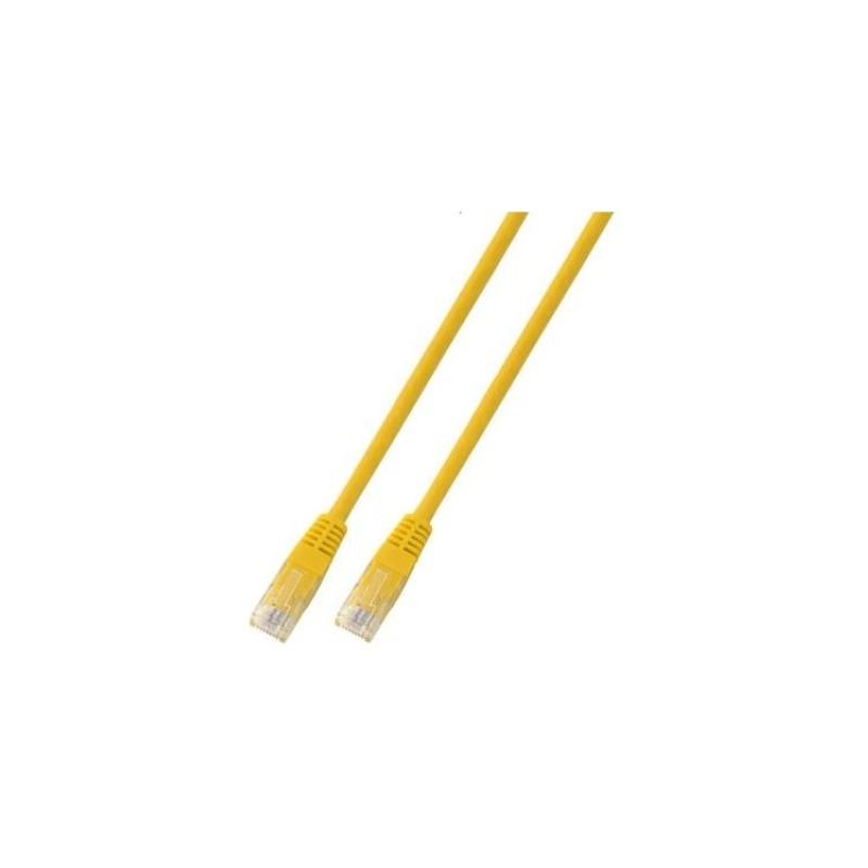 K8095.15, Пач кабел Cat.5e 15m UTP жълт, EFB