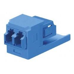 CMDSLCZBU, Duplex LC Fiber Adapter (BU) With Module (BU) Zinc